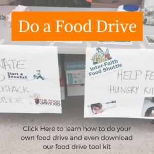 do a food drive
