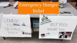 fight childhood hunger emergency