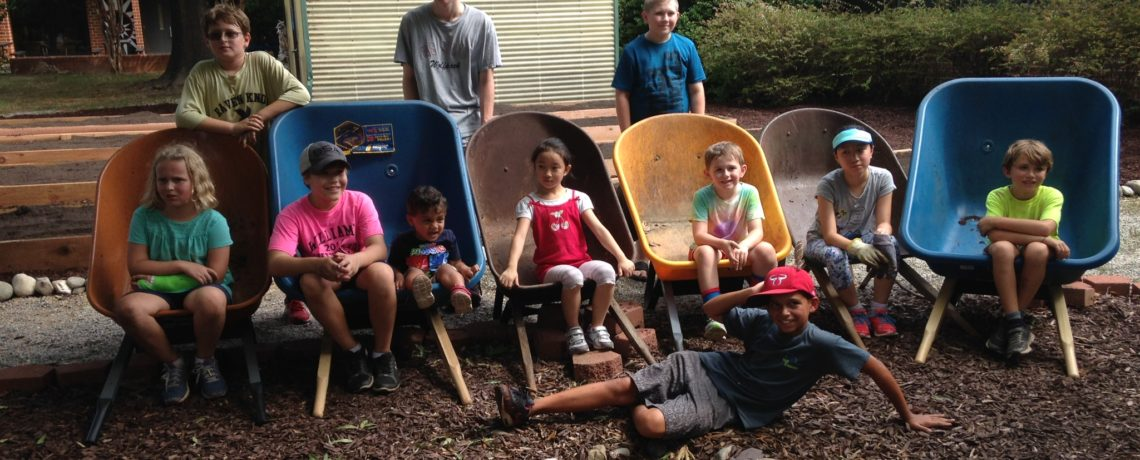 Fuller Elementary Garden Build